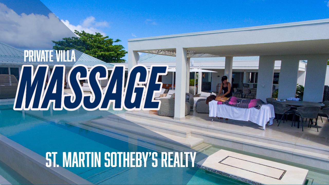Private Villa Massage in St. Martin